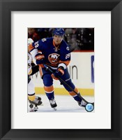 Framed Brock Nelson 2015-16 Action