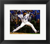 Framed Edinson Volquez Game 1 of the 2015 World Series