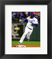 Framed Alcides Escobar Inside the park Home Run Game 1 of the 2015 World Series