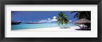 Framed Bora Bora, Tahiti
