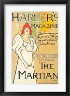 Framed Harper's Magazine