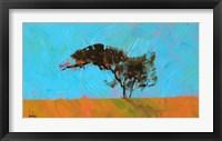 Framed Desert Tree