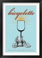 Framed Bicyclette Recipe