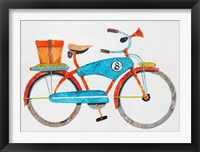 Bike No. 8 Framed Print
