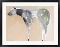 Framed Horse No. 25