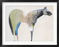 Framed Horse No. 33