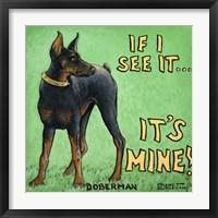 It's Mine Framed Print