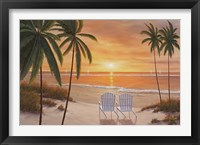 Framed Tropical Sun Watch