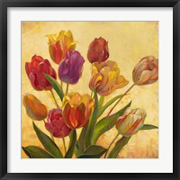 Framed Tulip Bouquet