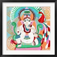 Framed Ganesh of Flight
