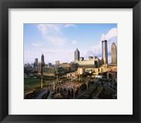 Framed Centennial Olympic Park, Atlanta, Georgia
