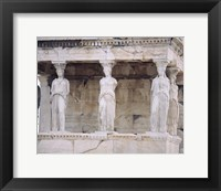 Framed Temple of Athena Nike Erectheum Acropolis, Athens, Greece