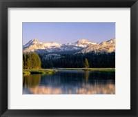 Framed Tuolumne River, Yosemite National Park, California