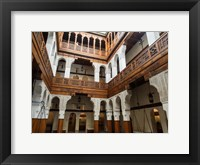 Framed Fondouk el-Nejjarine\ Fes, Morocco