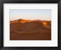 Framed Erg Chebbi Dunes, Errachidia Province, Morocco