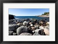 Framed North Shore Lake Superior, Ontario, Canada