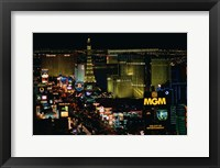 Framed Strip, Las Vegas, Clark County, Nevada