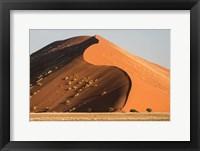 Framed Sand Dune, Namib Desert, Namib-Naukluft National Park