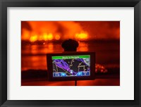 Framed GPS with the Holuhraun Fissure Eruption, Northern Iceland