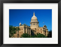 Framed State Capitol Building, Austin, TX