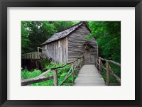 Framed Cable Mill at Cades Cove, Tennessee
