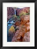 Framed Havasu Falls, Grand Canyon National Park, Arizona