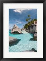 Framed Pulau Dayang Beach, Malaysia