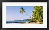 Framed Montezuma Beach, Nicoya Peninsula, Costa Rica