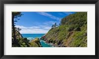Framed Heceta Head Lighthouse, Oregon