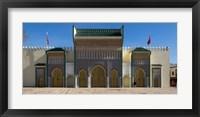 Framed Dar-el-Makhzen, Fes, Morocco