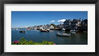 Framed Nantucket Harbor, Massachusetts