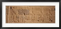 Framed Temple Of Philae, Aswan, Egypt