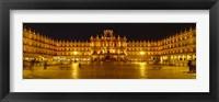 Framed Plaza Mayor Castile & Leon Salamanca, Spain