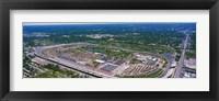 Framed Indianapolis Motor Speedway, Indianapolis, Indiana