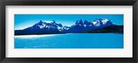 Framed Torres de Paine National Park, Chile