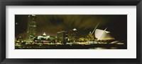 Framed Milwaukee Art Museum, Milwaukee, Wisconsin