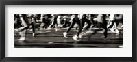 Framed NYC Marathon