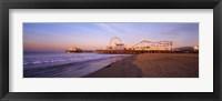 Framed Santa Monica Pier, California