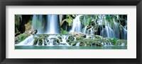 Framed Waterfall Snake River, Bonneville CO, Idaho