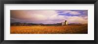Framed Grain Elevator, Fairfield, ID