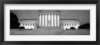 Framed Supreme Court Building, Washington DC