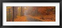 Framed Monadnock Mountain, New Hampshire