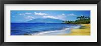Framed Kapalua Beach, Maui, Hawaii