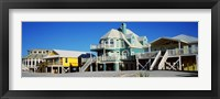 Framed Beach Front Houses, Gulf Shores, Baldwin County, Alabama
