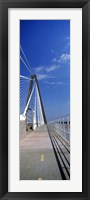 Framed Arthur Ravenel Jr. Bridge, Cooper River, South Carolina