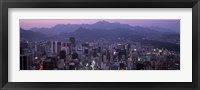 Framed Central Business District, Seoul, South Korea