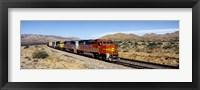 Framed Santa Fe Railroad, Arizona