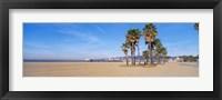 Framed Santa Monica Beach, CA