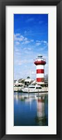 Framed Harbour Town Lighthouse, Hilton Head Island, South Carolina
