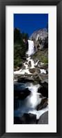 Framed Yosemite Park, Vernal Falls, California